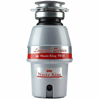 Waste King 9930 Legend Series 1/2 HP Continuous Feed Operation Garbage Disposer