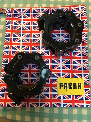 Crossfit Skipping Rope / Barbell Clip Bag Union Jack Flag USA 99p