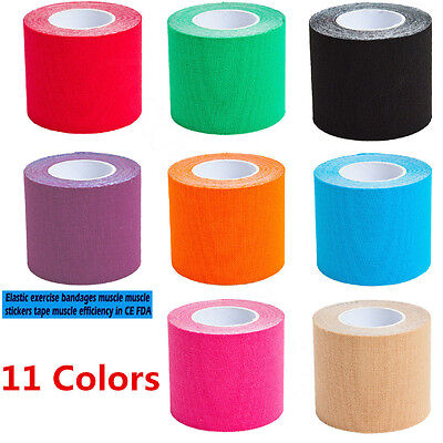 1 Roll Kinesiology Tape Sports Injury Muscle Bandage Elastic Physio Support  KY