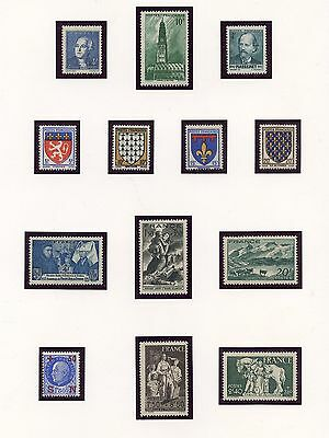 Stamp / Timbre France Neuf Sans Charniere Lot /