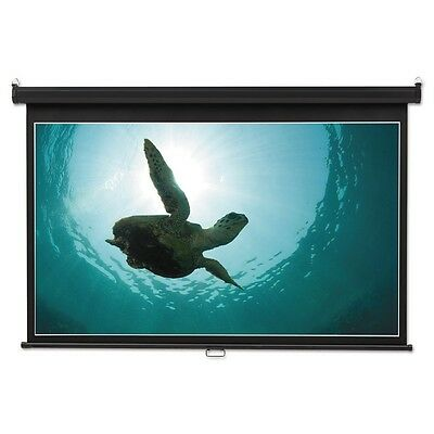 Quartet K85571 Wide Format Wall Mount Projection Screen- 45 X 80- White NEW