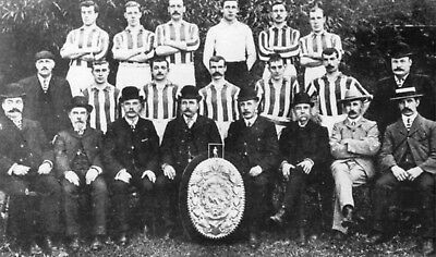 Bristol Rovers FC Football Club 1904 Squad Team Photo Vintage Reprint Photo 7x4""