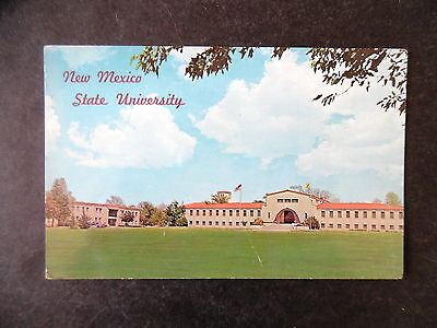 ca1960 Las Cruces New Mexico State University Postcard
