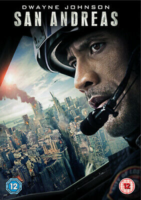 San Andreas DVD (2015) Dwayne Johnson