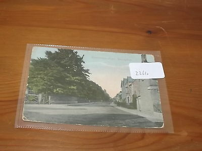 Old  postcard our ref#22610 STOCKERSTON ROAD UPPINGHAM 1905