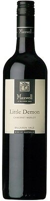 Maxwell `Little Demon` Cabernet Merlot 2014 (6 x 750mL), McLaren Vale, SA.