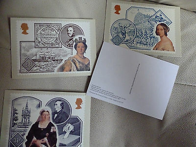 A Full Set Of 4 Post Office Postcards--  Victorian Britain