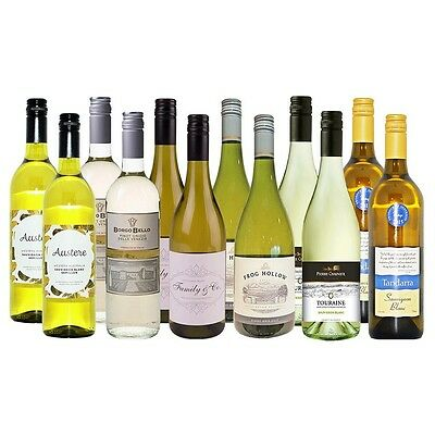 Australian vs Imported Whites Selection (12 x 750mL)