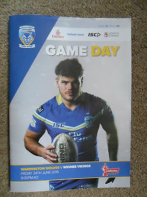 RUGBY LEAGUE CHALLENGE CUP 2016 ~ WARRINGTON WOLVES v WIDNES VIKINGS..24th JUNE