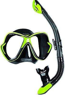 Mares Premium Quality Luxury Silicone Mask and Dry Snorkel Set Package - RRP £70