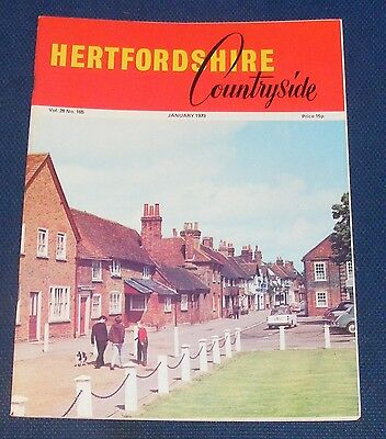 Hertfordshire Countryside January 1973 - Hertforshire Three Centuries Ago