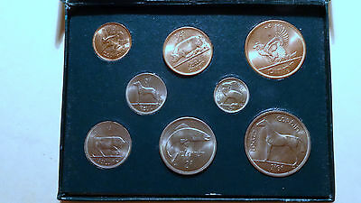 1966 Coins of Ireland Rare Boxed Mint Set