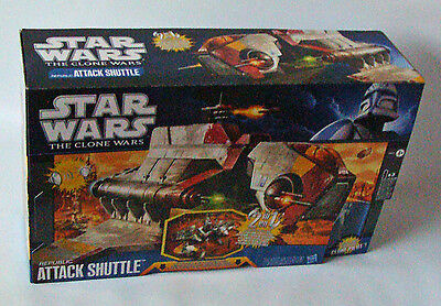 Star Wars The Clone Wars - Republic Attack Shuttle Hasbro 4+ - Neu