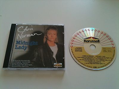 Chris Norman - MIDNIGHT LADY - CD Album © 1992 (prod. by Dieter Bohlen)