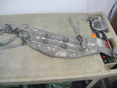 Molle II ACU MOLDED WAIST BELT for Large RUCKSACK Frame Digital Camo VGC