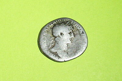 Ancient ROMAN SILVER COIN concordia HADRIAN unity agreement denarius treasure ar