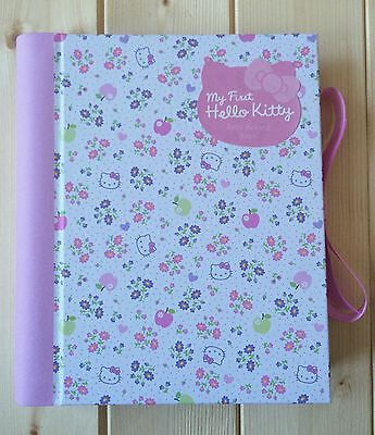 New Adorable Hello Kitty Baby Record Memory Keepsake Journal Book - Lovely Gift
