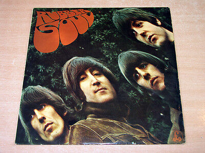 EX/EX- !! The Beatles/Rubber Soul/1965 Parlophone Stereo LP