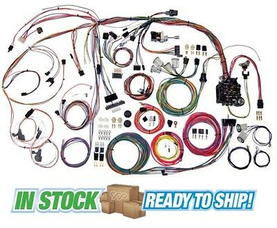 61 64 chevy impala classic update american autowire wiring harness 70 72 chevy chevelle classic update american autowire wiring harness kit 510105
