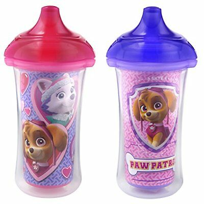 Munchkin Paw Patrol Click Lock Insulated Sippy Cup, 2 Count New