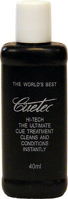 Cuetec Hi-Tech The Ultimate Cue Treatment/Cleaner - 40ml Bottle