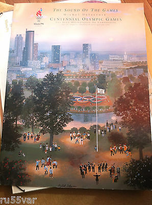 The Sound of the Games Michel Delacroix Centennial 1996 Olympic games set of 5
