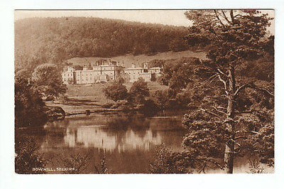 Bowhill House Selkirk Photographed And Published By A R Edwards Old Postcard