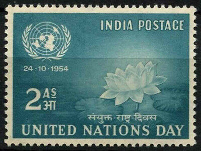 India 1954 SG#352 United Nations Day MNH #D39264