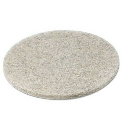 Natural Hair Extra High-Speed Floor Pads, Natural, 20-Inch Diameter, 5/Carton