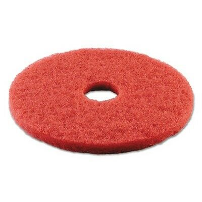 Boardwalk Standard 14-Inch Diameter Buffing Floor Pads, Red BWK4014RED New