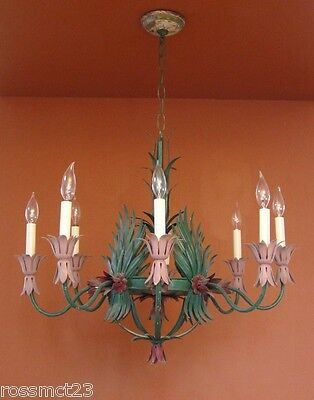 Vintage Lighting 1960s Hollywood Regency huge garden room light   Will Recolor