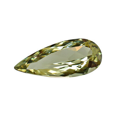 3.8 Ct Pear Zultanite Natural Color-Change Loose Gem 17x7.5mm Cert of Auth 237