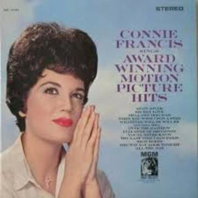 Connie Francis Sings Award Winning Motion Picture Hits MGM Records Vinyl LP