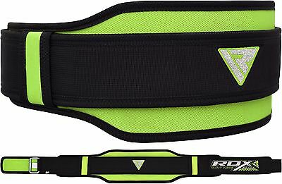 RDX Weight Lifting Belt Gym Training Back Support Power Lumbar Pain Fitness BG