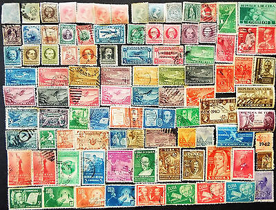 LATIN AMERCIA CARIBBEAN STAMPS 19TH C. - 1940s