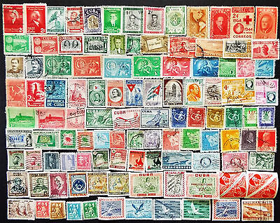 LATIN AMERCIA CARIBBEAN STAMPS 1940s AND LATER