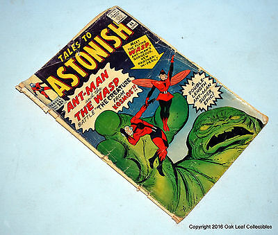 Tales to Astonish 44 1st Appearance Of Wasp Key Low Grade FR-Good Complete!