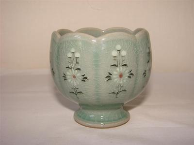Oriental Celadon Pottery Vase/cup/bowl Signed