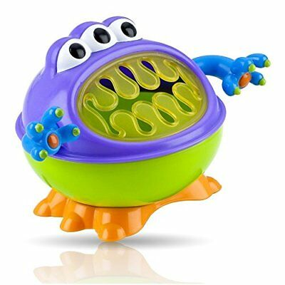 Nuby 3-D Monster Snack Keeper New