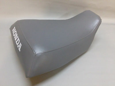 HONDA ATC250ES Seat Cover BIG RED in CHARCOAL GRAY or 25 COLORS     (ST)