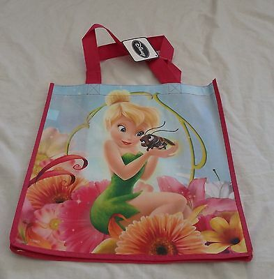 Girls TINKERBELL Shopping TOTE bag with handles NEW TINKER BELL