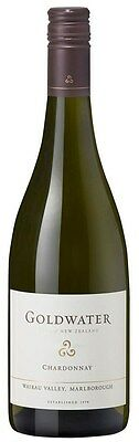 Goldwater Chardonnay 2014 (6 x 750mL), Marlborough, NZ.