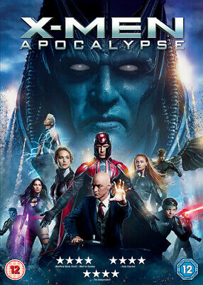 X-Men: Apocalypse DVD (2016) James McAvoy, Singer (DIR) cert 12 Amazing Value