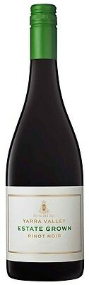 De Bortoli `Estate Grown` Pinot Noir 2015 (6 x 750ml), VIC.