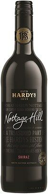 Hardys `Nottage Hill` Shiraz 2015 (6 x 750mL), SE AUS.