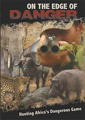 On the Edge of Danger African Hunting DVD Safari Press Hunting New Sealed