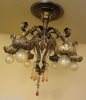 Vintage Lighting extraordinary 1920s ceiling fixture