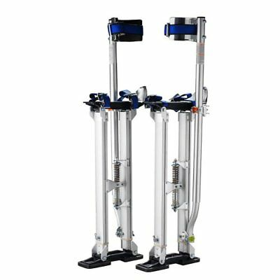 "Pentagon Tool Professional 24""-40"" Silver Drywall Stilts Highest Quality New"