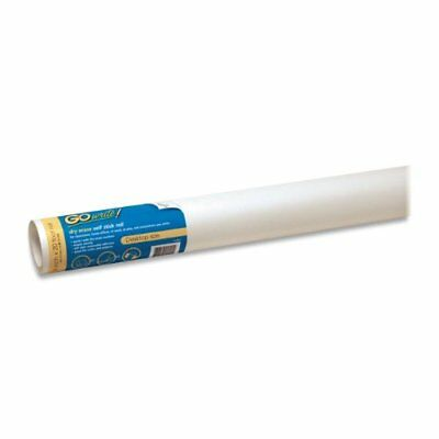 """GoWrite! Dry Erase Self-Adhesive Roll, 18""""x20', White (AR1820) New"""