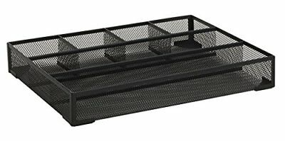 Rolodex Mesh Collection Drawer Organizer, Black (22131) New